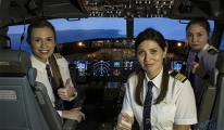 Pilotluğu kadınlarımıza da tavsiye ediyorum