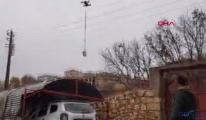 #Polis, kısıtlamada acil ilaçları dronla ulaştırdı(video)