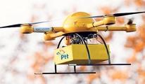 PTT drone ile kargo taşıyacak!