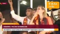 Radamel Falcao Atatürk Havalimanı'nda
