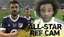 Real Madrid'in Yıldızlarını Hakemin Gözünden İzleyin(video)