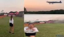 Red Bull'a ait akrobasi uçağı düştü video!