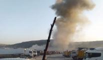 Rejim uçakları akaryakıt istasyonlarını hedef aldı(video)