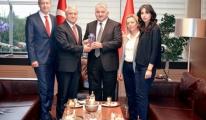 Rektör Gündoğan'dan,THY Genel Müdürü Ekşi'ye Ziyaret