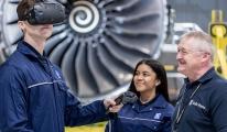 Rolls-Royce Mühendislerini (VR) Kullanarak Eğitiyor