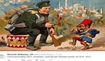 Rus Büyükelçiliği'nden küstah paylaşım!