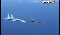 Rus uçağı Nato uçağını kovaladı (video-haber)