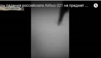 Rus Yolcu Uçağı Mısır'da Düşme Anı video