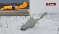 Rusya'da Yolcu Uçağı Düştü video
