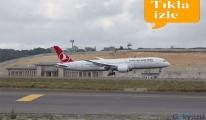 Rüya uçak İstanbul Havalimanı'na iniş yaptı!