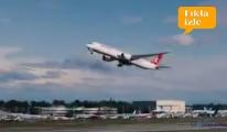 Rüya uçuk Boeing 787-9 ilk kez görüntülendi!video