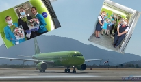 S7 Antalya ve Dalaman'a uçmaya başladı