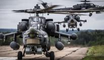 Saatte 500 kilometre hızla giden helikopter