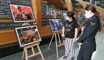 Sabiha Gökçen'de 15 Temmuz fotoğraf sergisi açıldı#video