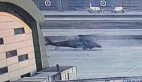 Sabiha Gökçen'deki helikopter kazası(video)