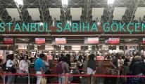Sabiha Gökçen Havalimanı 455 bin yolcu ağırladı!