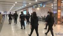 #Sabiha Gökçen Havalimanı'nda maske denetimi(video)