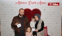 Sabiha Gökçen Havalimanı'nda sevgililer günü sürprizi video