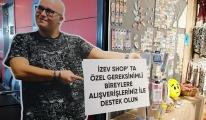 Sabiha Gökçen'de, İZEV mağazası yeniden açıldı