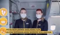 #Pegasus Sağlıklı Uçuşlar İçin Önlemlerimizi Aldık!#video