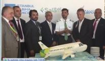 Salam Air'in Sabiha Gökçen Havalimanı uçuşları başladı