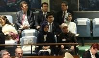 Sare Davutoğlu, Başbakan'ın BM konuşmasını dinledi