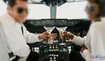 Sarhoş pilot tutuklandı