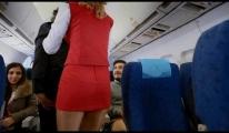 Sarhoş Yolcu Uçakta Kavga Çıkarttı