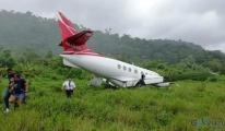 SARPA'ya ait yolcu uçağı iniş sırasında pistten çıktı