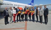 SAS Esenboğa'ya İlk Stockholm Uçuşunu Gerçekleştirdi