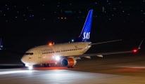 SAS Uçağı Tuvalet Nedeniyle Geri Döndü