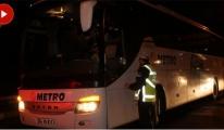 Şehirler Arası Otobüslerde 'Sivil Trafik Uygulaması' Başladı