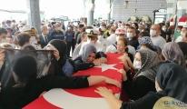 Şehit er Mesut Yıldırım, Mersin'de son yolculuğa uğurlandı