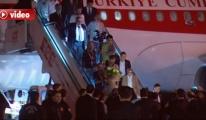 Serbest bırakılan 16 Türk işçi Ankara'da! video