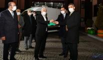 Şereflikoçhisar Belediyesi'ne Cenaze Aracı Desteği
