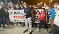 Servisçilerden İBB binası önünde eylem