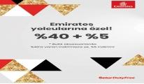 Setur Duty Free mağazalarında Emirates Havayolları yolcularına özel kampanya
