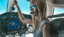 Sevgilisine inat pilot oldu!