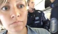 Sığınmacı yerine aktivist uçaktan indirildi!
