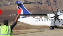 Siirt'te Ekim ayında 9 bin 719 kişi hava yoluyla uçuş yaptı