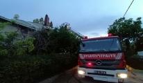 Silivri'de iki ayrı yangın#video