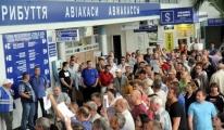 Simferopol'de yolcu rekoru