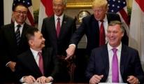 Singapur'a Trump'lu Uçak Satışı