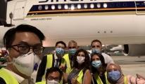 Singapur Hava Yolları Tahliye ve Kargo Uçuşu