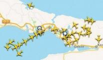 Sis Yüzünden Uçaklar Havada Tur Attı