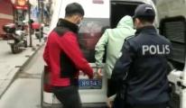 Şişli'de evden hırsızlık yapan şüpheliler(video)