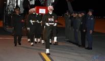 Sivas Havalimanında şehidin cenazesi karşılandı
