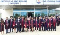 Sivil Havacılık Yüksekokulu 3. Yıl Mezunlarını Verdi