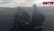 Sofuoğlu 3. Havalimani'nda  F-16 ile prova yaptı!