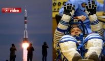 Soyuz Uzay Aracı, Kazakistan'dan fırlatıldı